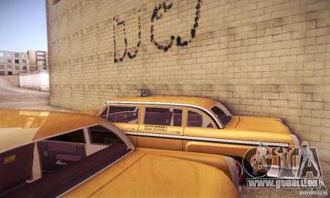 Cabbie HD pour GTA San Andreas vue intérieure