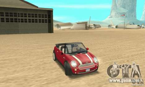 Mini Cooper Convertible für GTA San Andreas