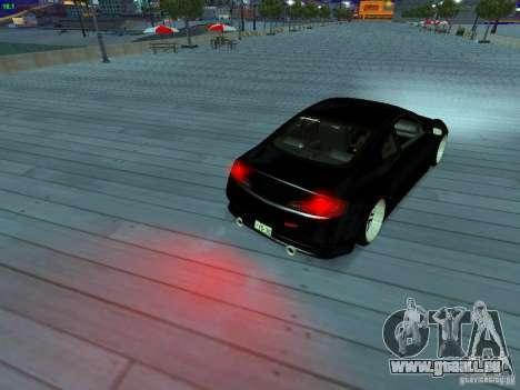 Infiniti G35 V.I.P pour GTA San Andreas moteur
