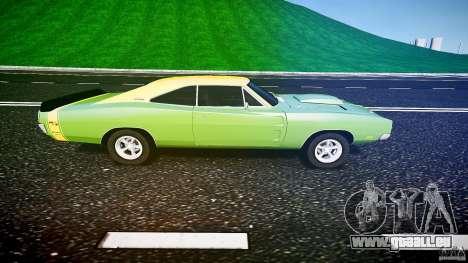 Dodge Charger RT 1969 tun v1.1 pour GTA 4 est une gauche