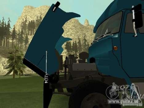 ZIL 133 pour GTA San Andreas vue arrière