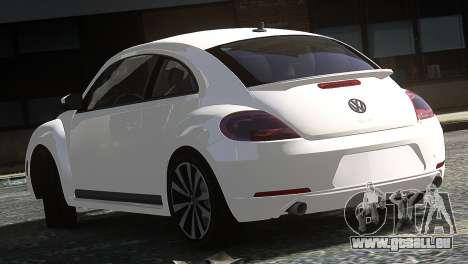 Volkswagen Beetle Turbo 2012 für GTA 4 hinten links Ansicht