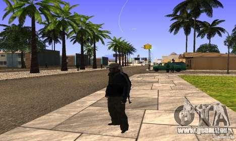 Grove Street v1.0 pour GTA San Andreas cinquième écran