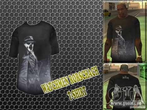 Watchmen Rorschach Shirt für GTA San Andreas