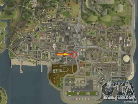 CJ-special forces pour GTA San Andreas neuvième écran