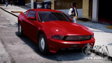 Ford Shelby GT500 2010 für GTA 4