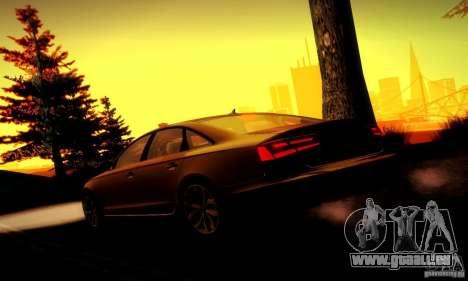 Audi A6 2012 pour GTA San Andreas roue