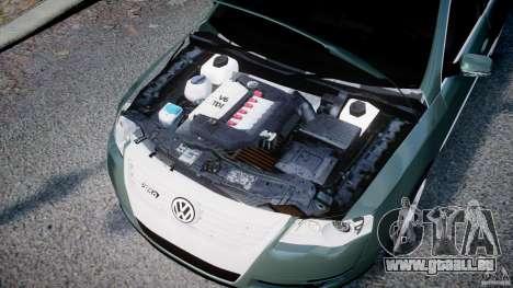 Volkswagen Passat Variant R50 pour GTA 4 est une vue de l'intérieur