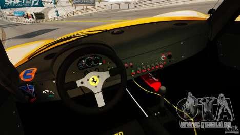 Ferrari F50 GT 1996 für GTA 4 Rückansicht