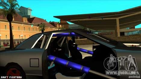 Elegy hard pour GTA San Andreas vue arrière