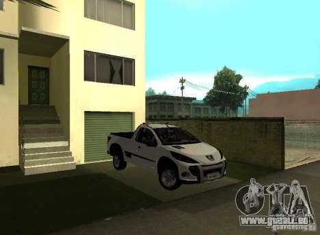 Peugeot Hoggar Escapade 2010 für GTA San Andreas