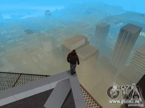 James Heller de Prototype 2 pour GTA San Andreas sixième écran