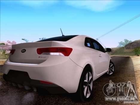 Kia Forte Koup SX für GTA San Andreas Rückansicht