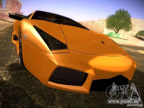 Lamborghini Reventon für GTA San Andreas rechten Ansicht