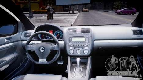 Volkswagen Golf 5 GTI für GTA 4 obere Ansicht