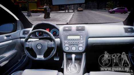 Volkswagen Golf 5 GTI pour GTA 4 vue de dessus