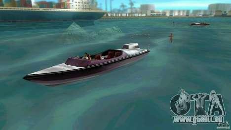 Ski Speeder pour une vue GTA Vice City de la gauche