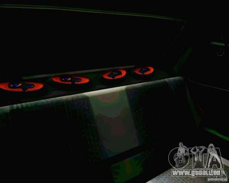 Tofas Dogan SLX DRIFT für GTA San Andreas obere Ansicht