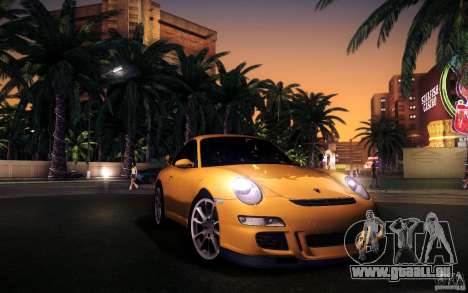 Porsche 911 GT3 (997) 2007 für GTA San Andreas Unteransicht