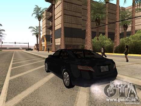 Toyota Camry 2010 pour GTA San Andreas laissé vue