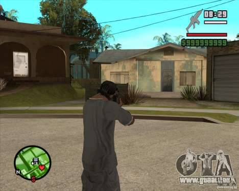End Of Days: XM8 (HD) für GTA San Andreas dritten Screenshot
