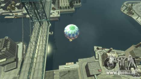 Balloon Tours option 2 pour GTA 4 Vue arrière de la gauche