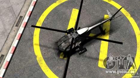AH-6 LittleBird Helicopter pour GTA 4 est un droit
