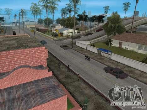 Neue Groove Street für GTA San Andreas zweiten Screenshot