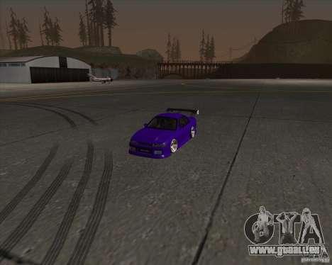 Nissan Silvia S13 Nismo tuned pour GTA San Andreas vue de côté