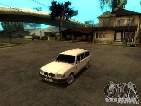 GAZ VOLGA 310221 TUNING version für GTA San Andreas linke Ansicht