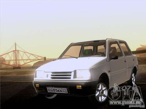 VAZ 1111 Oka Sedan pour GTA San Andreas