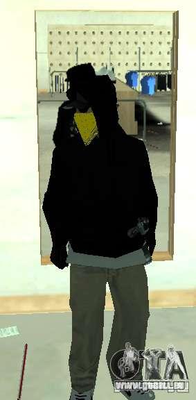 Vagos Gang Skins pour GTA San Andreas sixième écran