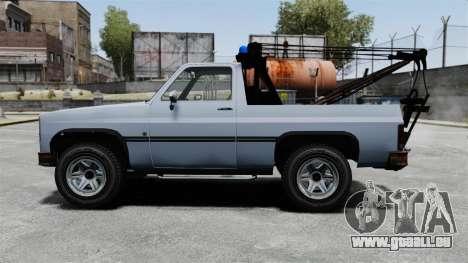 Rancher Tow Truck ELS für GTA 4 linke Ansicht