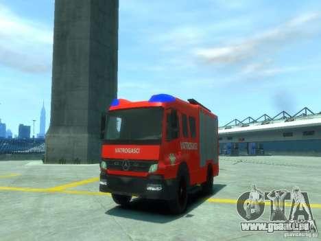 Mercedes-Benz Atego Fire Departament pour GTA 4