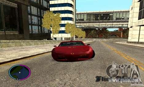 Axis Piranha Version II für GTA San Andreas zurück linke Ansicht