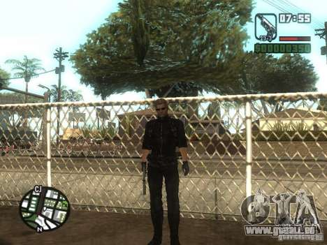 Wesker de RE5 pour GTA San Andreas