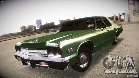 Dodge Monaco pour GTA San Andreas vue de droite