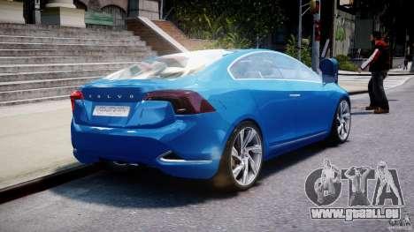 Volvo S60 Concept für GTA 4 Seitenansicht