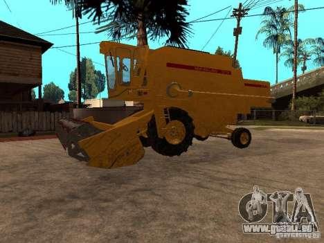 Holland TX 34 C pour GTA San Andreas sur la vue arrière gauche