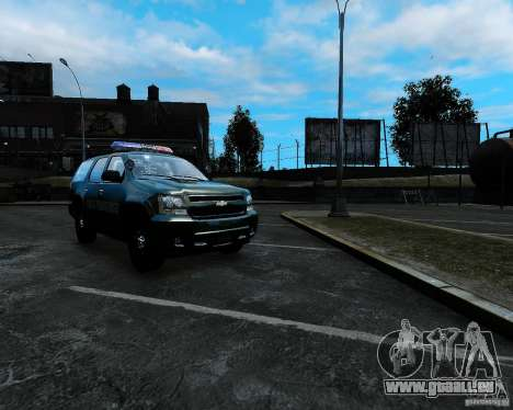 Chevrolet Tahoe Hungarian Vam-Zoll Custom für GTA 4