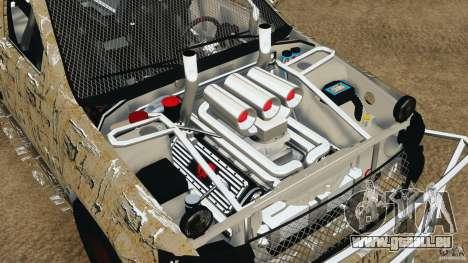 Chevrolet Tahoe 2007 GMT900 korch für GTA 4 Rückansicht