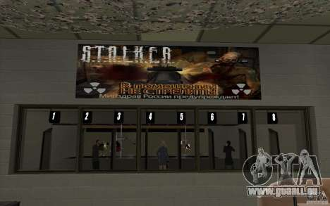 Boutique d'armes S. T. A. L. k. e. R pour GTA San Andreas septième écran