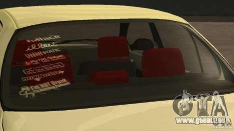 Toyota Corolla Tuned für GTA San Andreas zurück linke Ansicht