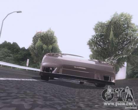 Honda NSX Japan Drift für GTA San Andreas Rückansicht