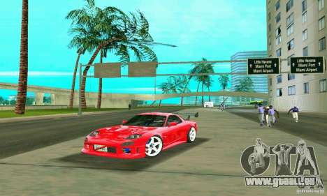 Mazda RX7 Charge-Speed pour GTA Vice City