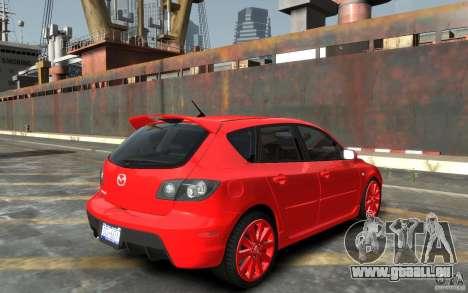 Mazda 3 pour GTA 4 est un droit