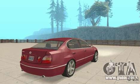 Lexus GS430 1999 für GTA San Andreas linke Ansicht