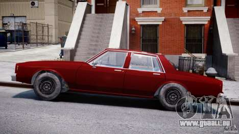 Chevrolet Impala 1983 v2.0 pour GTA 4 est une gauche