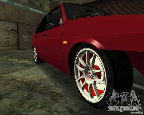 VAZ 2109 Drift für GTA San Andreas obere Ansicht