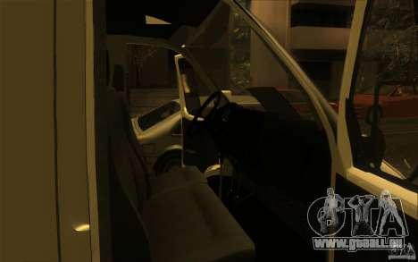 Gazelle SPV-16 Rue für GTA San Andreas rechten Ansicht